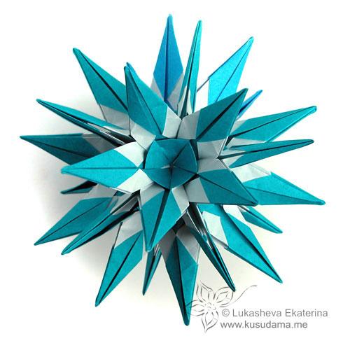 Как сделать оригами розу из бумаги.
