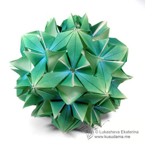 OB-ORIGAMI.RU - Модульное оригами, плетение.